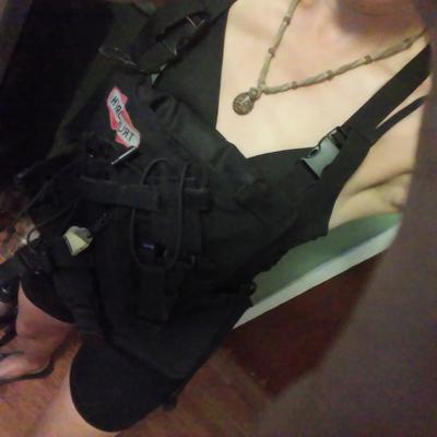 Wildland Firefighting Dozer Pack as Weighted Vest