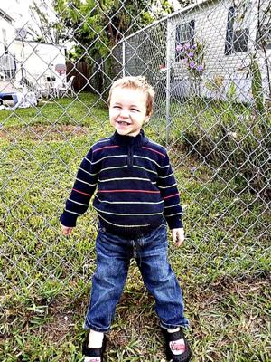 My lovely little boy.