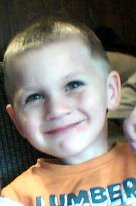 This is my son Trevor age 5