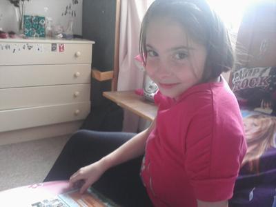 My daughter Faith